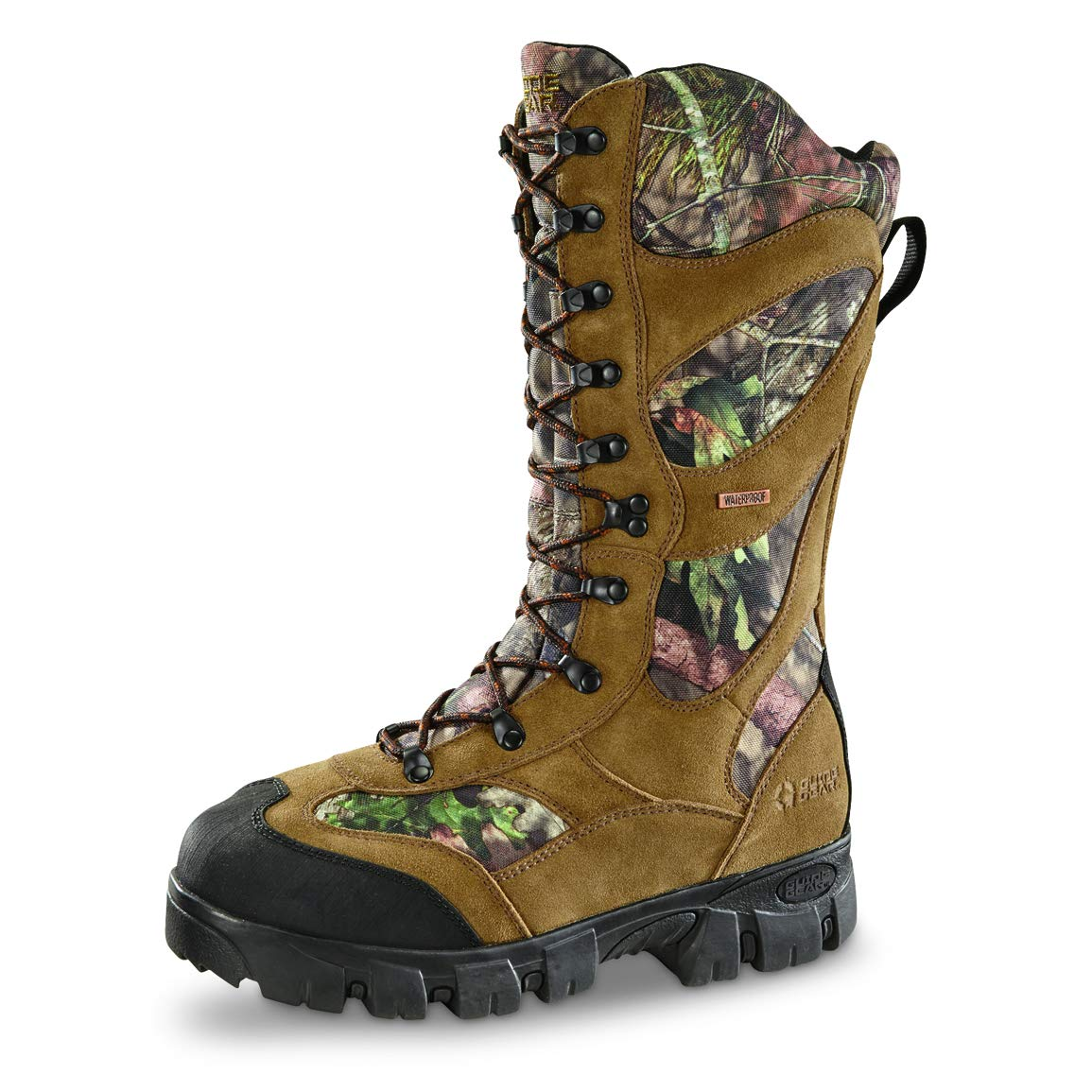 9cf74e76326 Guide Gear Giant Timber II Men'sInsulated Waterproof Hunting Boots,  1,400-gram, Mossy Oak
