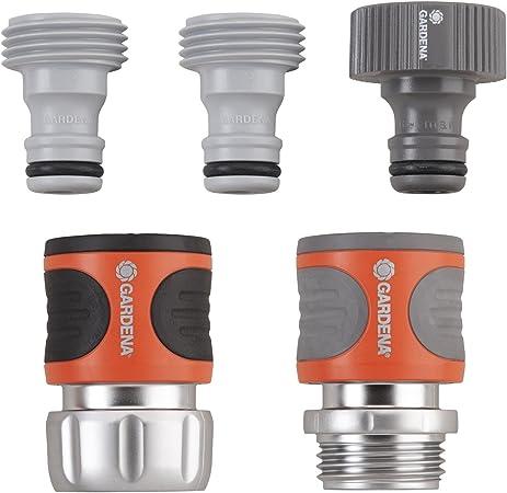 Amazon.com: GARDENA set de conectores premium de metal para ...