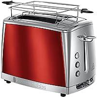 Russell Hobbs 23220-56 Luna İki Dilim Kapasiteli Ekmek Kızartma Makinesi, Kırmızı