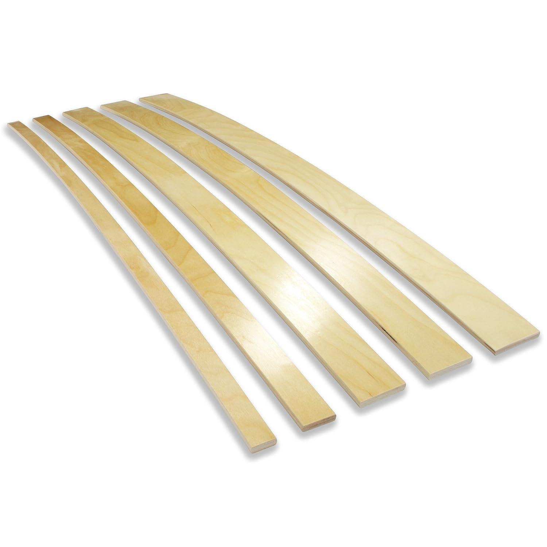 Ersatz Federholzleisten für Lattenroste, Sofas (600x50x8 mm): Amazon ...