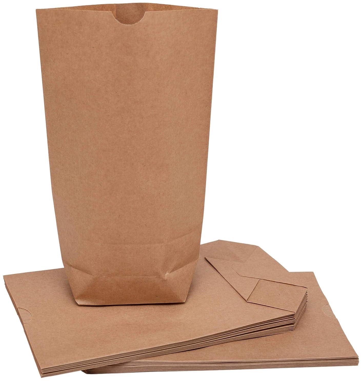 Lot de 24 sacs en papier 100/% Mosel Marron 16 x 26 x 6,3 cm