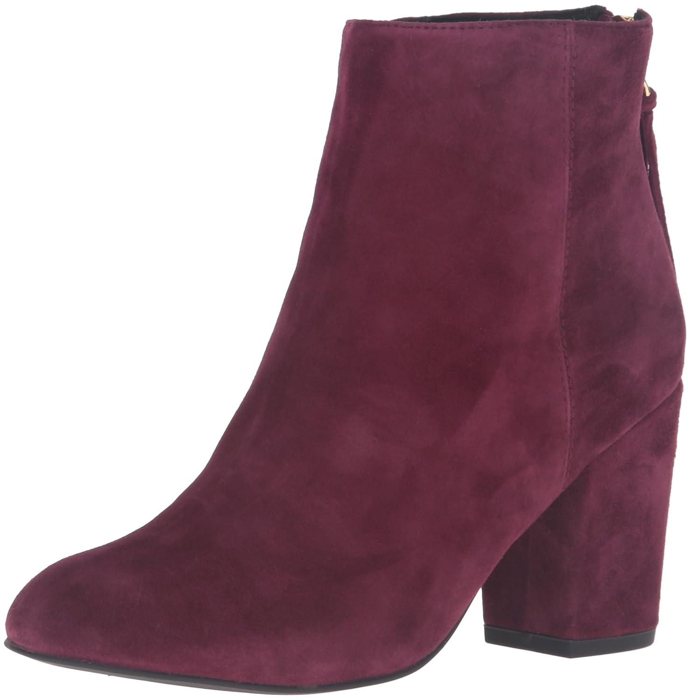 Steve Madden Women's Cynthia Ankle Bootie B01DBQ2X6I 6 B(M) US|Burgundy Suede