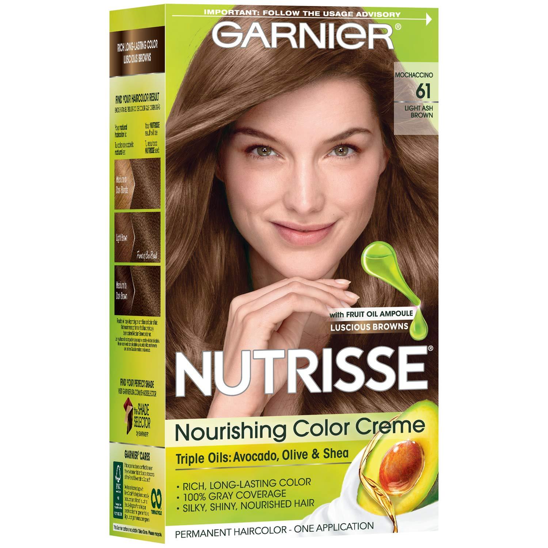 Garnier Nutrisse Nourishing Hair Color Creme, 51 Medium