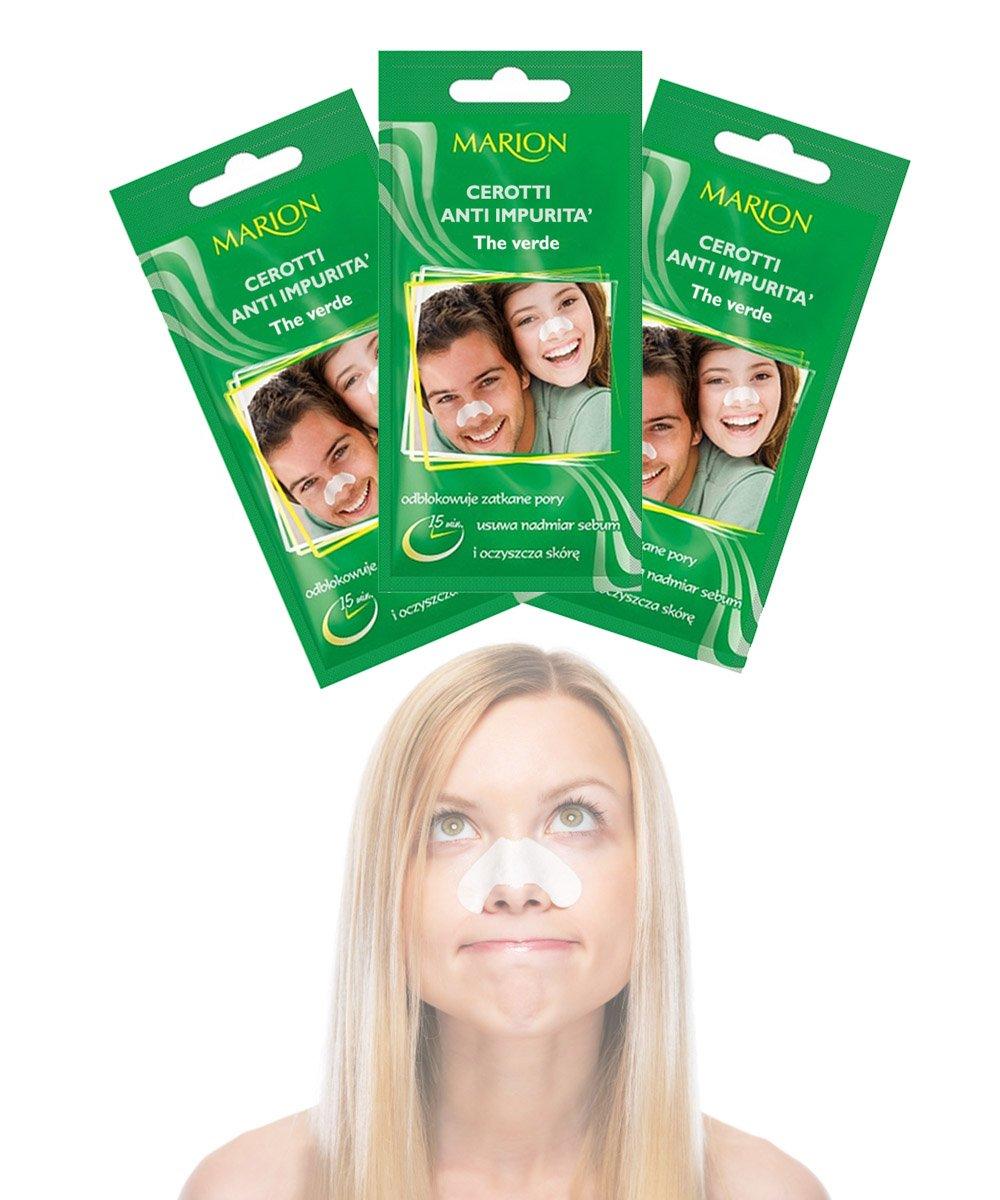 Cerotti naso per la rimozione di punti neri e delle impurita' - set da 5pz - Kamiustore