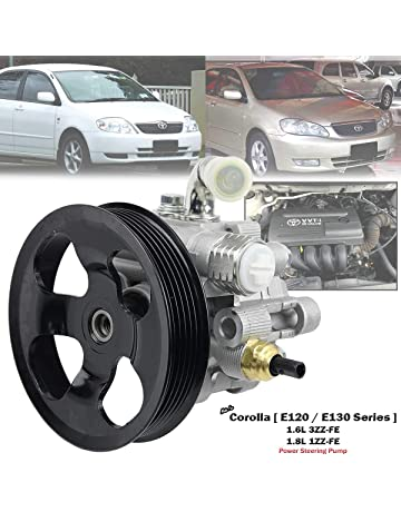 Power Steering Pump For Toyota Corolla ZZE121 ZZE122 1.6L 1.8L 1ZZ-FE 3ZZ