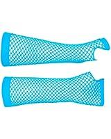 The Pea's Knees Netzhandschuhe, fingerlos, lang, in 10 Farben erhältlich