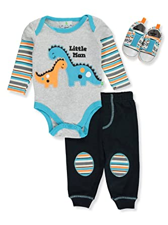 Amazon Com Duck Duck Goose Baby Boys 3 Piece Outfit Clothing