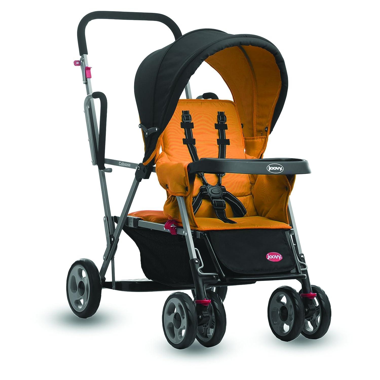 Joovy Caboose Stand On Tandem Stroller, Orangetree 408
