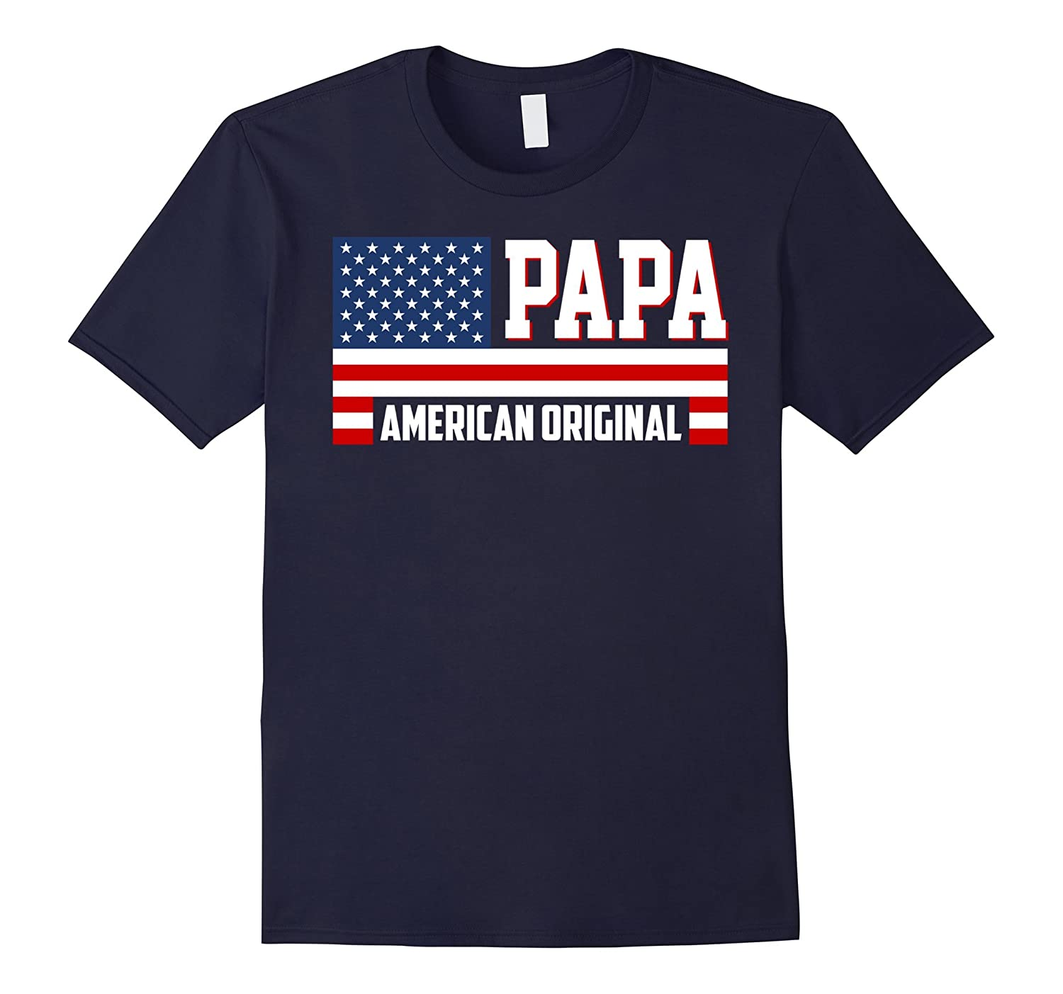 papa american original t shirt goatstee. Black Bedroom Furniture Sets. Home Design Ideas