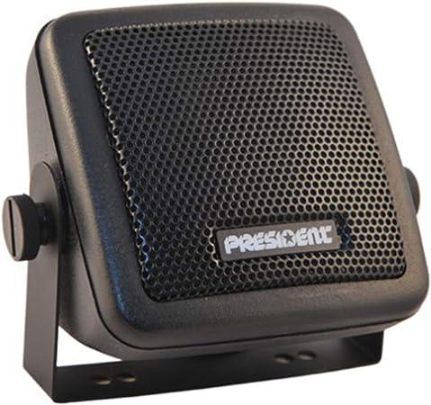 Président Externer Lautsprecher President Hp 1 Jack 3 5 5w Für Cb Radio Black Audio Hifi