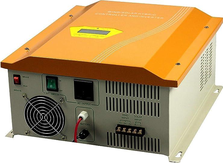 デイーユーモ 1000W 48V 風力と太陽光ハイブリッドコントローラ/インバータ内蔵(120V)