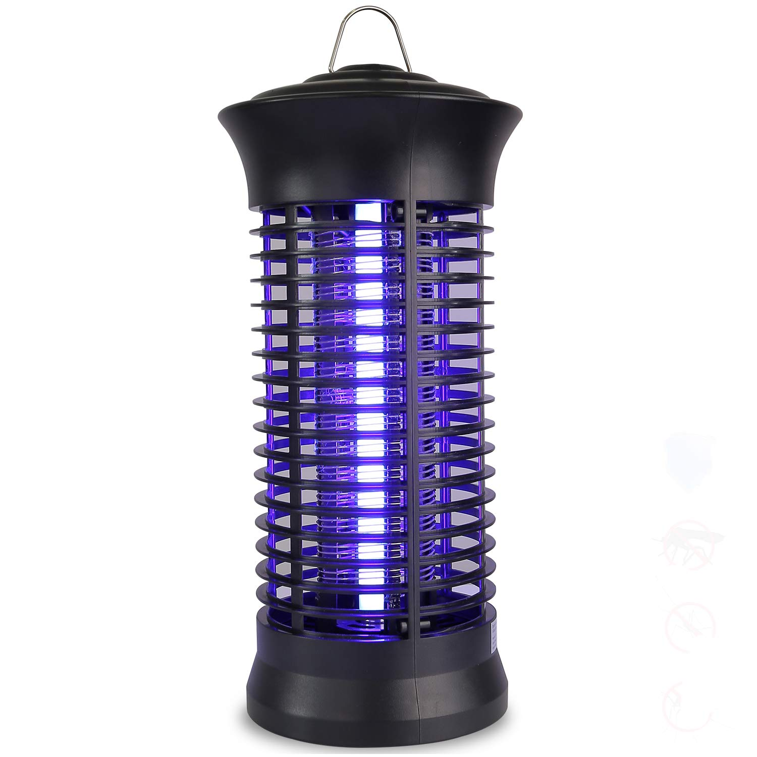 occer Bug Zapper, Electric Indoor Mosquito Killer Trap,Portable Insects Fly Zappers,Catcher,with 360°UV Light Large Coverage,Suitable for Bedroom,Living Room,Office,Kitchen,Patio,Yard