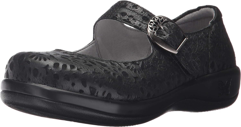 Women/'s Alegria Comfort Clogs Kourtney Black Delicut KOU-435