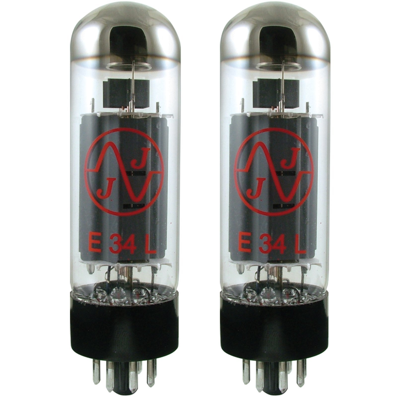 JJ Electronics T-E34L-JJ-MP Vacuum Tube Pentode Matched Pair