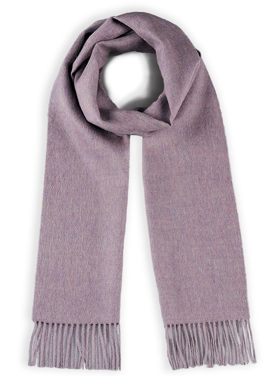 100% Pure Baby Alpaca Wool Scarf – Dyed & Natural Dye Free Solid Colors - Unisex Inca Fashions