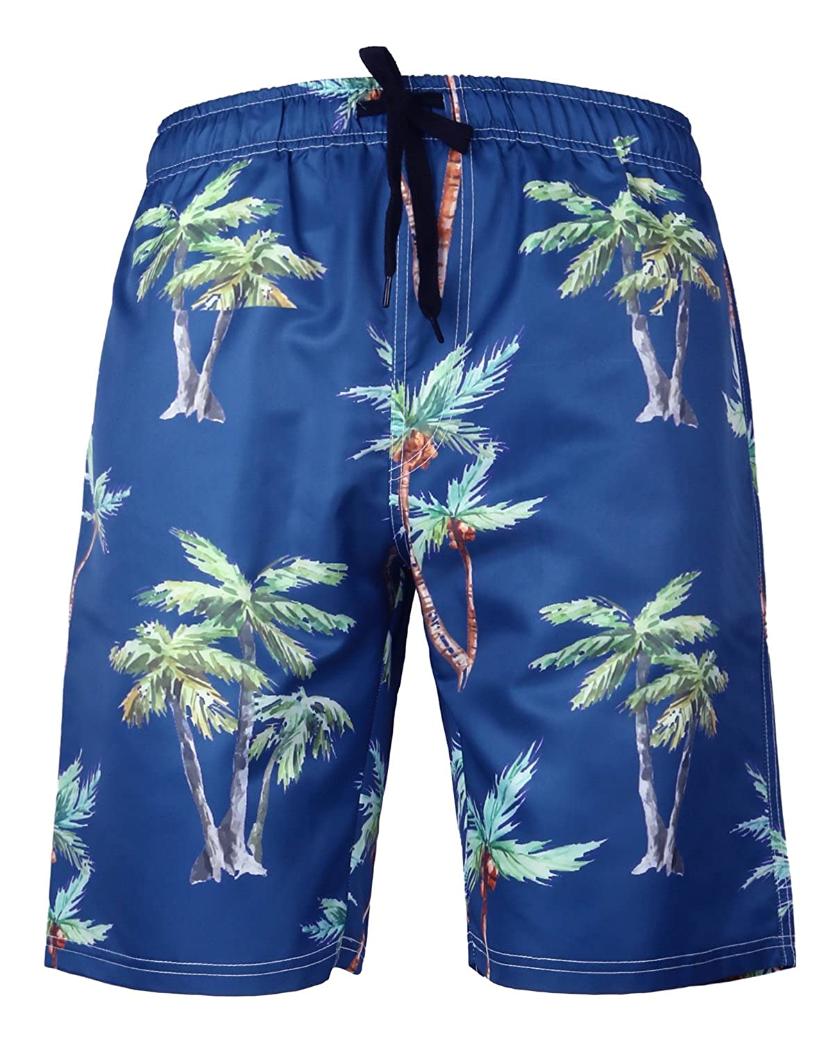HONG DI HAO Mens Swim Trunks Quick Dry Swimming Trucks Men Big Tall Beach Shorts