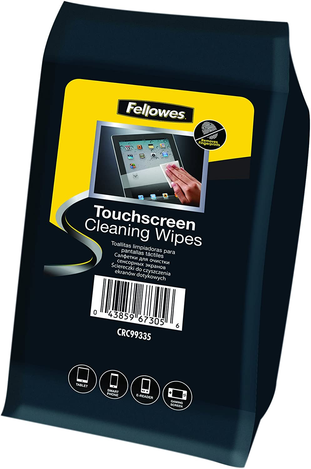Amazon.com : Fellowes 9933502 Cleaning Cloth for Touch Screen : Office Products