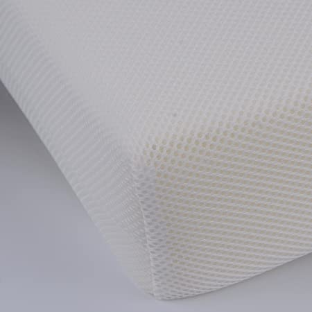 Pekitas - Colchón minicuna 50 x 75 cm,Funda 3D Erogonómico Transpirable Antiahogo con cremallera lavable, interior espuma blanca,Fabricado en España