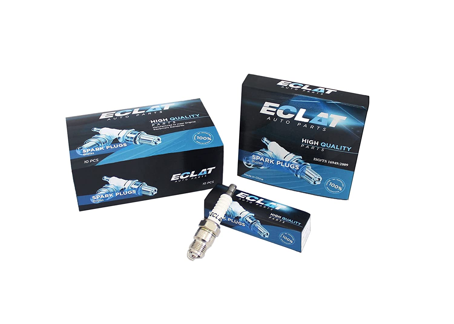 Amazon.com: Eclat ECN9YC (N9YC) Engine Replacement Coopper Spark Plug (Pack of 4): Automotive
