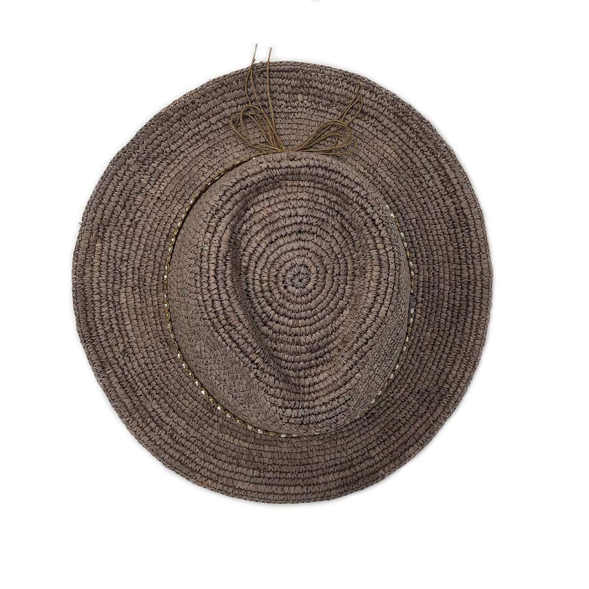Wallaroo Hat Company Women's W Collection Malibu Fedora - Mushroom - Raffia by Wallaroo Hat Company (Image #3)