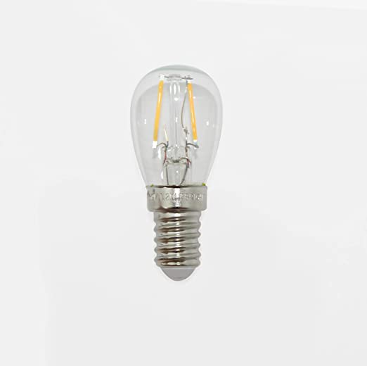 F BRIGHT 2601940 filamento led 1.2W. Luz cálida (2700ºK). Rosca E14