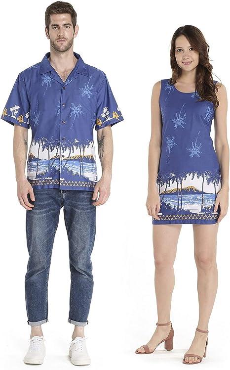 Amazon.com: Vestido de Navidad para pareja de Luau Luau ...