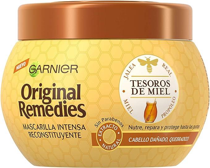 Garnier Original Remedies Tesoros de Miel Mascarilla capilar ...