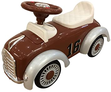 1ac5cc43d5748f Amazon | 乗用玩具 足けり乗用 レトロカー クラシックカー 乗用玩具 押し ...
