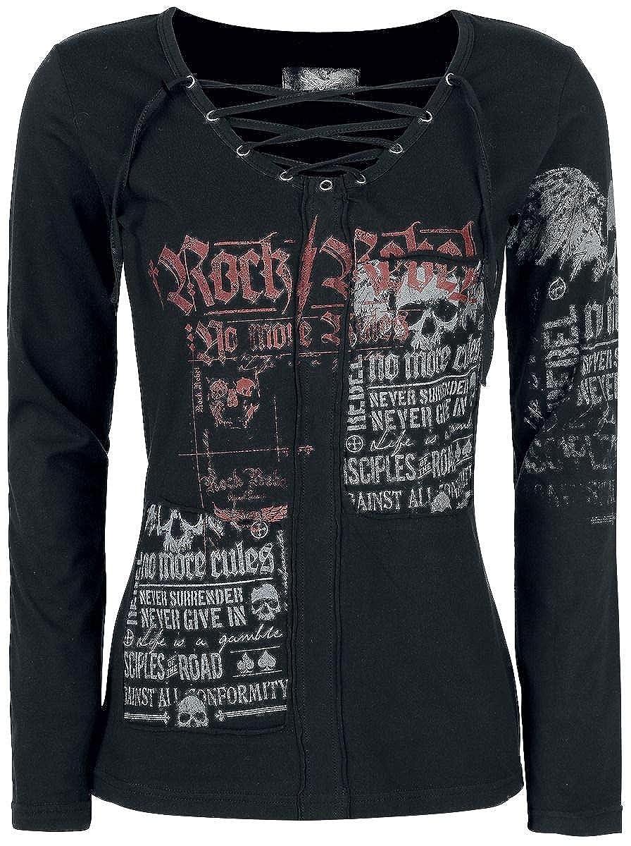Rock Rebel by EMP Stay Girl-Longsleeve schwarz JC Worldwide Ltd