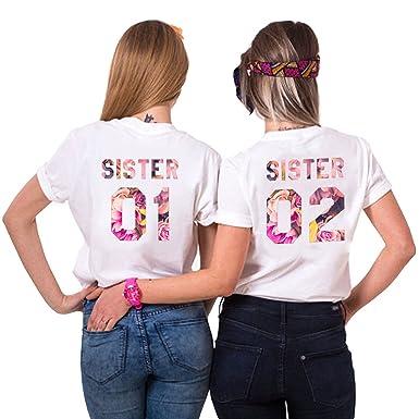 Süßes T-shirt  flieder Damen B/&C Baumwolle großer Ausschnitt Flatterärmel