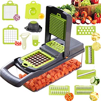 Alrens 8 in 1 Vegetable Chopper with Container