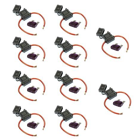 VOODOO 8 Gauge Maxi Inline Fuse Holder Fuseholder with Cover /& 30 Amp Fuse