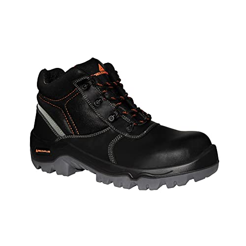 Deltaplus - Calzado de protección para hombre, color negro, talla 44 EU