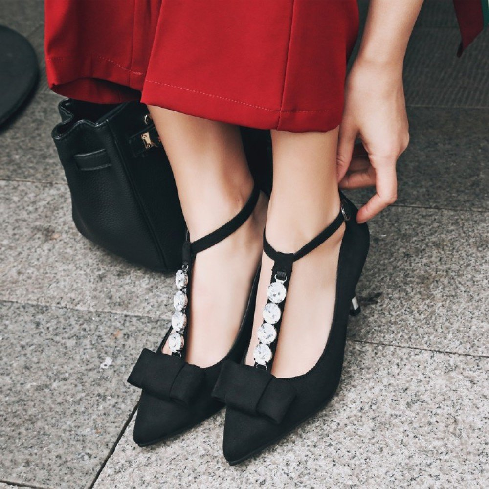 Damen Sexy High Heels Strass Strappy Ankle Schuhe Damenmode Damenmode Damenmode Lace Up Zipper Schuhe Beiläufige Dünne Ferse Party Schuhe 92738e