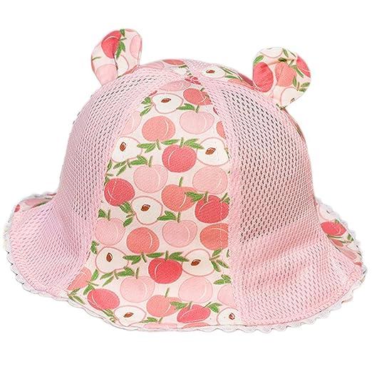 Amazon.com  Freedi Baby Sun Hat Toddler Boys Girls Net Beanie Cowboy ... e69e9ce5b72