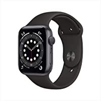 $429 » New AppleWatch Series 6 (GPS, 44mm) - Space Gray Aluminum Case with Black Sport Band