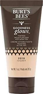 product image for Burt's Bees Goodness Glow Tinted Moisturizer, Rich in Antioxidants, Ivory, 1.0 Ounce