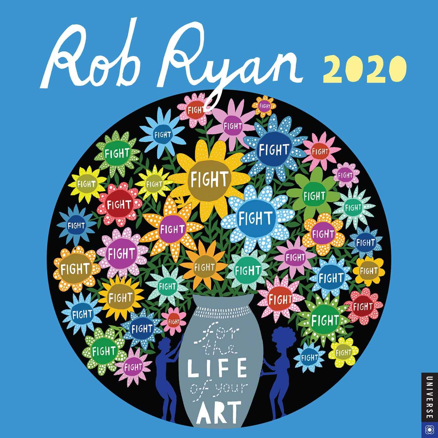 A Perfect Circle Tour 2020.Rob Ryan 2020 Wall Calendar Rob Ryan 9780789336293 Amazon