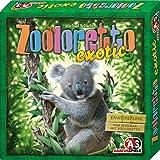 """Abacusspiele - 4092 - Jeu de société """"Zooloretto Exotic"""" - Extension - Langue: allemande"""
