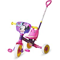 Spartan Disney Minnie Tricycle with Pushbar , Multi Color