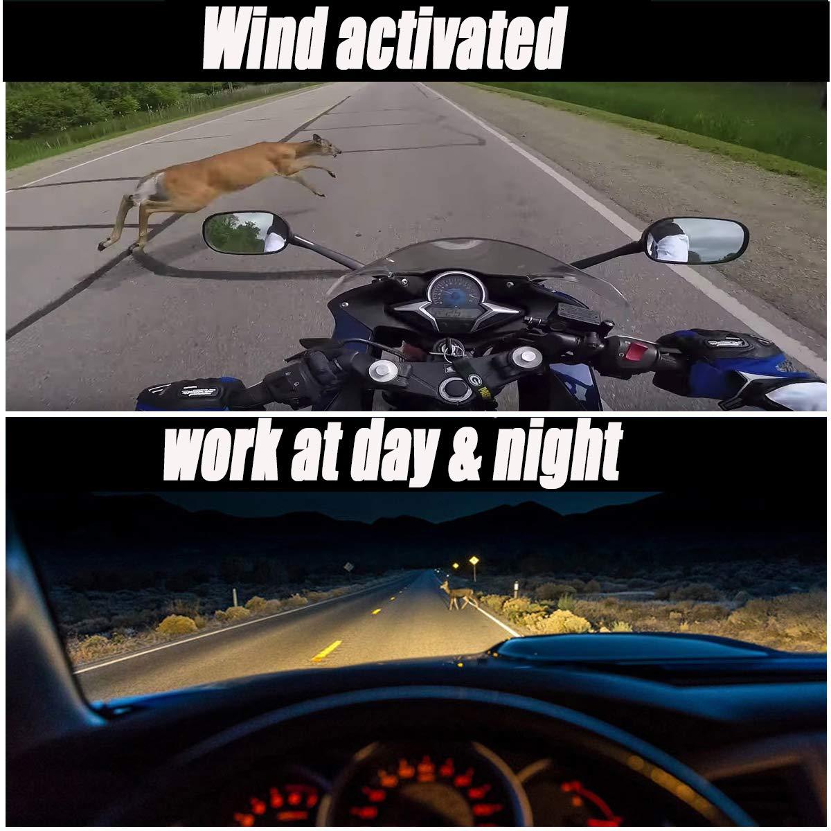 Deer Whistles for Car Deer Whistles for Vehicles 10 Pack, Chrome