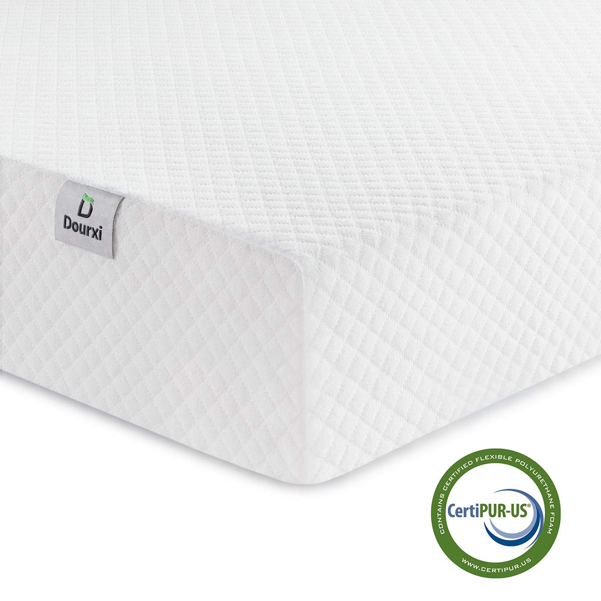 new style 2778f a8ad2 Dourxi Crib Mattress and Toddler Bed Mattress, Dual Sided Sleep System,  Firm Side for Infants and Plush Soft Side for Toddlers, Breathable Foam  Baby ...