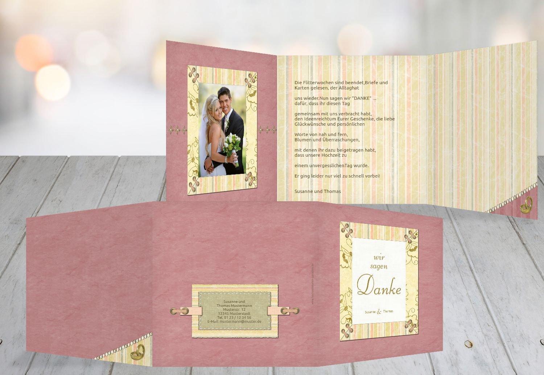 Kartenparadies Danksagung für Hochzeitsgeschenke Hochzeit Hochzeit Hochzeit Dankeskarte Bund für's Leben, hochwertige Danksagungskarte Hochzeitsglückwünsche inklusive Umschläge   20 Karten - (Format  145x145 mm) Farbe  OckerBeige B01N24VZ5N | Hohe  4e0225