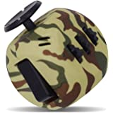 Fidget Cube Relieves Stress And Anxiety, Fidget Toy Fun Cube Anxiety Attention Toy for Children and Adults with ADHD ADD OCD Autism (GREEN CAMOUFLAGE)