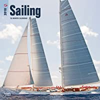 Image for Sailing 2018 12 x 12 Inch Monthly Square Wall Calendar, Boat Ocean Sea Sport (Multilingual Edition)