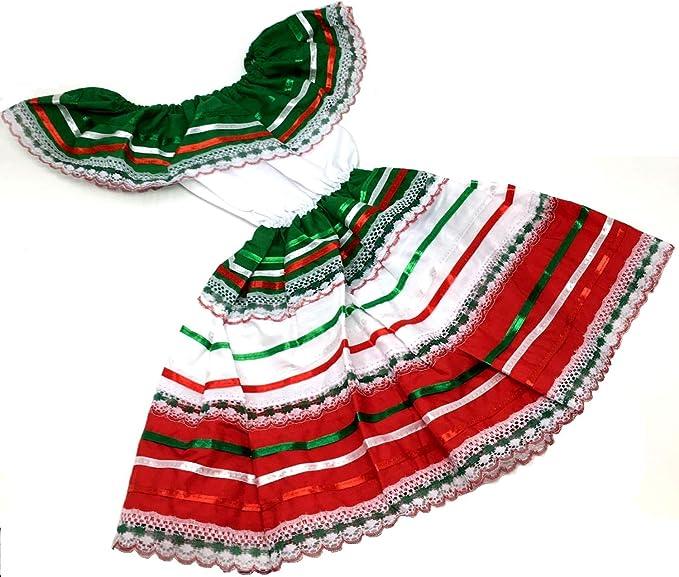 Amazon.com: Disfraz de Fiesta Mexicana para niño, talla 1 ...