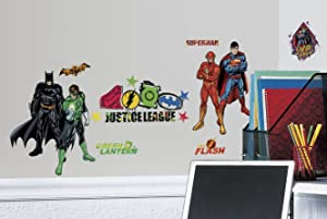 RoomMates Justice League Peel and Stick Wall Decals
