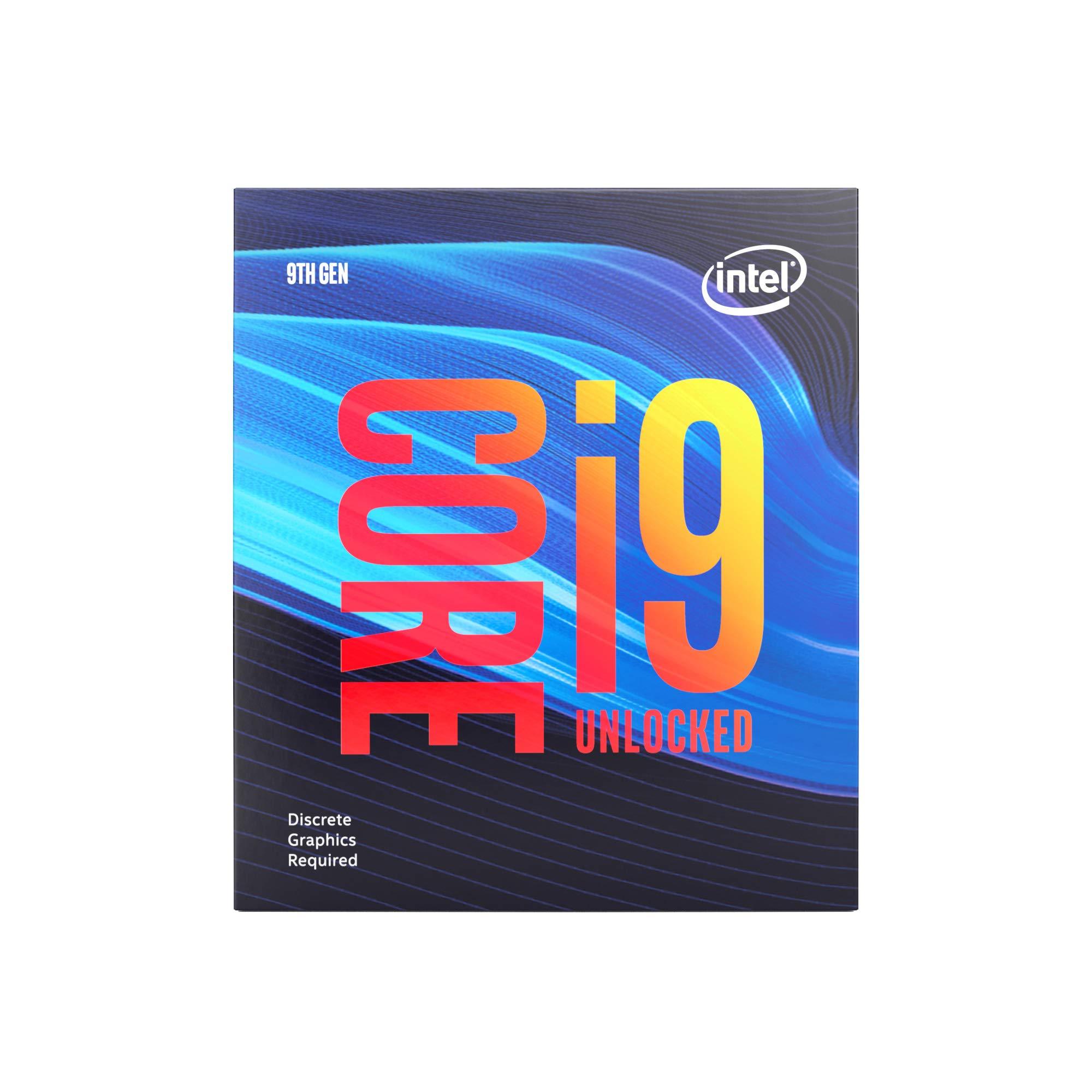 Intel BX80684I99900KF Intel Core i9-9900KF Desktop Processor 8 Cores up to 5.0 GHz Turbo Unlocked Without Processor Graphics LGA1151 300 Series 95W by Intel