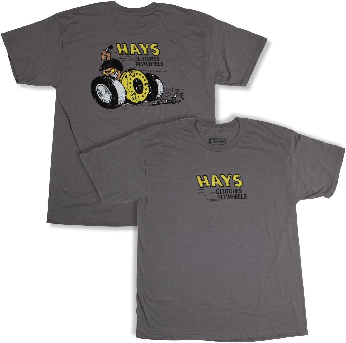 Hays 10065-LGHYS Gray Clutch Tee Large