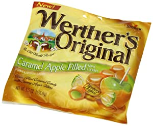 Werther's Original - Caramel Apple Filled Hard Candies - Net Wt. 5.5 OZ (155.9 g) - Pack of 2